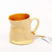 Kubek ceramiczny - pomarańczowy