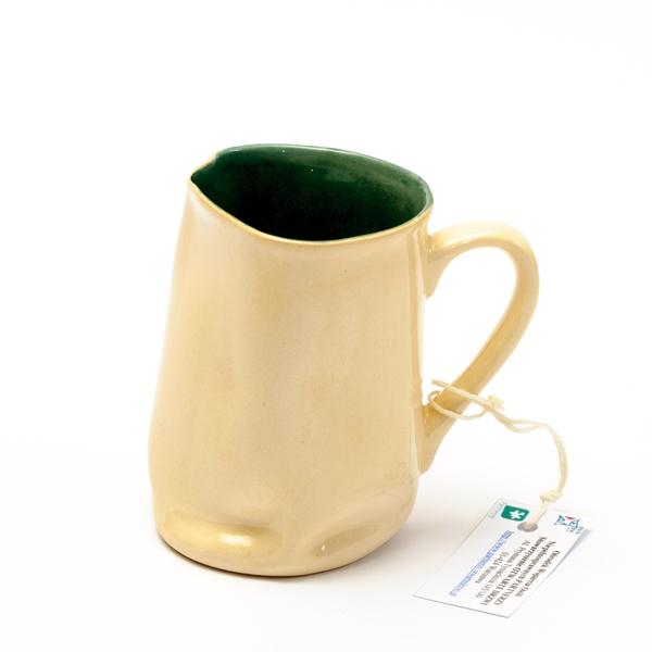 Kubek ceramiczny – zielony