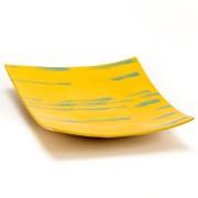 Patera na owoce - żółta